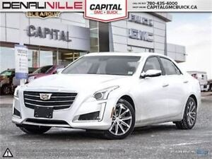2016 Cadillac CTS Luxury Collection AWD-Heated/Cooled seats-Safe