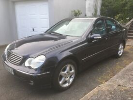 Mercedes C200-Perfect Runner,6 months MOT, 4 good tyres,Priced for quick sale! NOT BMW, AUDI, FORD