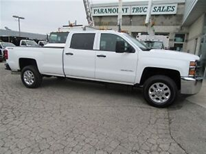 2015 Chevrolet SILVERADO 3500HD crewcab 4x4 diesel long box X 3