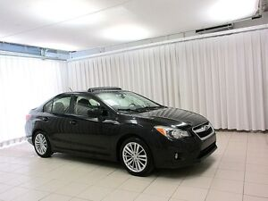 2014 Subaru Impreza AWD SEDAN w/ HEATED SEATS, SUNROOF, ALLOY WH
