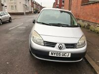 Renault MEGANE SCENIC 1.4 MPV 2005 CLEAN CAR AND RELIABLE