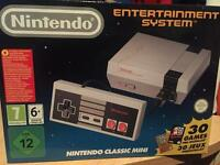 Brand new Nintendo NES Mini