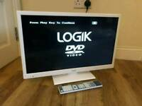 24in LOGIK TV 1080p with Freeview HD