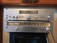 Vintage Pye amp and tuner