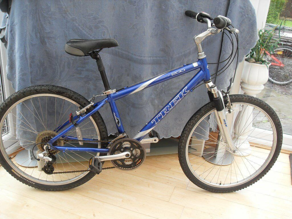 Adults Very Good Quality Trek Navigator 200 Suspension Mountain