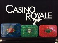Casino royale james bond plaques