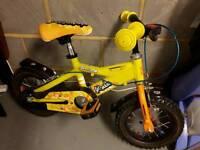 Boys Diamondback Bike RM12 aged 3-5