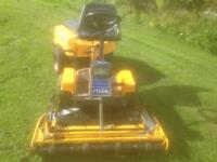 Stiga park sit on mower