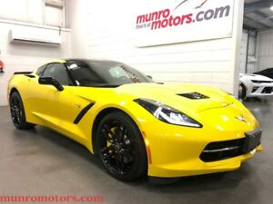 2014 Chevrolet Corvette Stingray Z51 3LT HUD NPP Carbon Fiber Ex