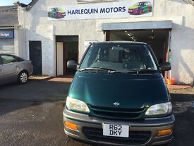 Free Delivery- 9/11/1997 NISSAN SERENA 2.0L PETROL AUTOMATIC, DISABLED VEHICLE - Free Delivery