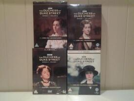 "NEW+SEALED ""THE DUCHESS OF DUKE STREET"" COMPLETE SERIES ON 10 DVD'S"