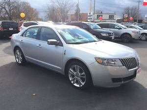 2012 LINCOLN MKZ BASE- NAVIGATION SYSTEM, LEATHER HEATED & COOLE
