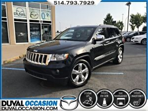 2012 Jeep Grand Cherokee Overland V6 4X4 + CUIR + TOIT OUVRANT +