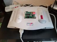 AMSTRAD GX4000 CONSOLE FULLY BOXED WITH SD CARD UPGRADE
