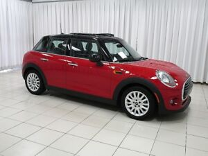 2016 MINI Cooper 5 DOOR TURBO w/ HEATED SEATS, DUAL MOONROOF & R