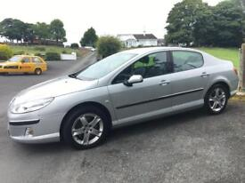 PEUGEOT 407 SPORT 2.2 HDI 2008 ***12 MONTHS MOT*** ONLY 59000 MILES***