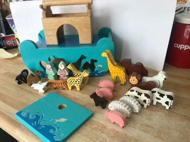 Wooden Noah Ark And Animals In Stoke On Trent Staffordshire Gumtree
