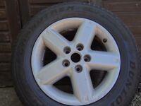 nissan x trail 16ins alloy wheel