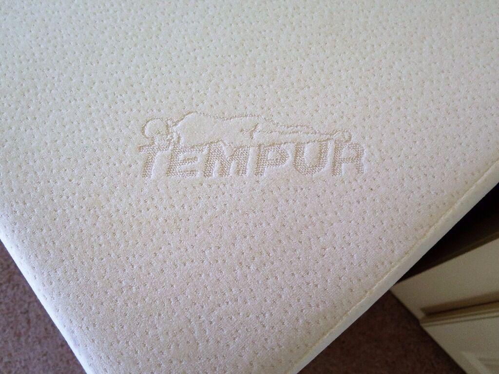 Tempur Original 21cm Single Mattress In Longer 200cm 6 Feet Inches Size