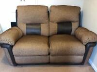 DFS 2 & 3 Seatter electric reclining sofas