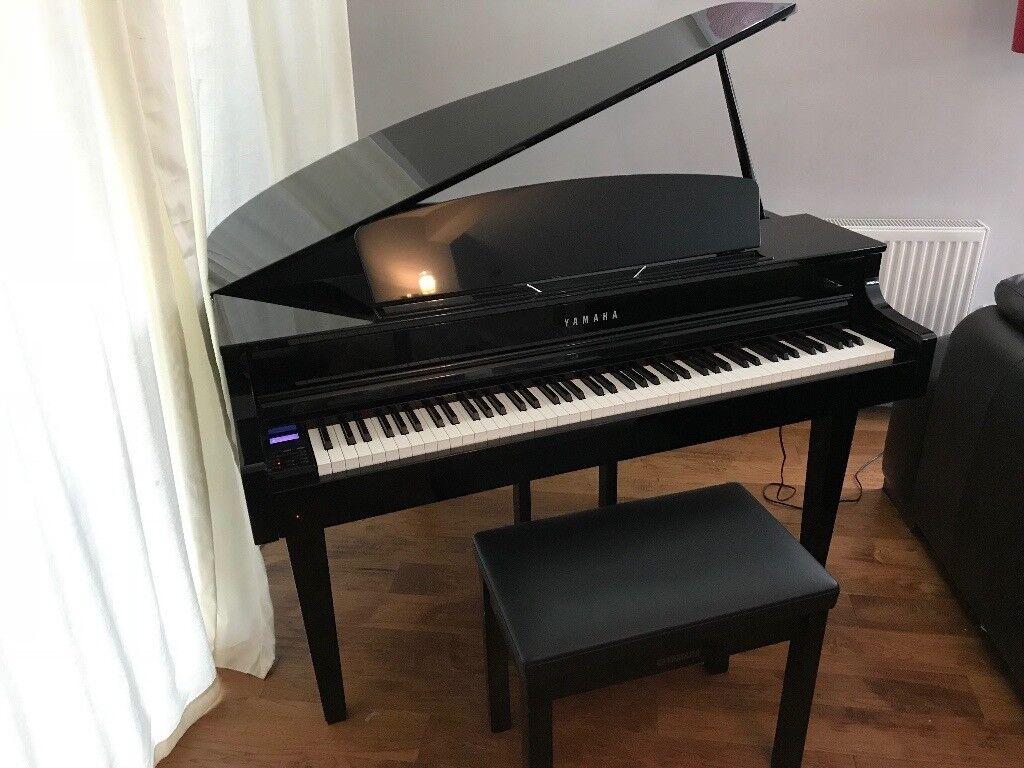 yamaha clavinova clp565 digital baby grand piano in longniddry east lothian gumtree. Black Bedroom Furniture Sets. Home Design Ideas
