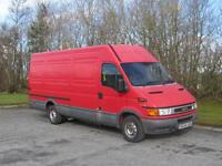 Man and extra large van for hire. Glasgow - full UK removals