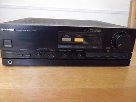 Pioneer A-X530 hi-fi stereo amplifier - 90 watts per channel into 8 ohms