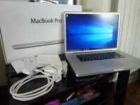 "17"" Apple MacBook Pro Unibody Mac OSX El Capitan 10.11 & Windows 10 - Boxed & Fully Loaded"