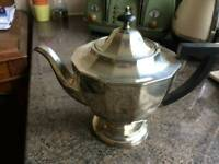 Vintage victorian-style silver plated teapot