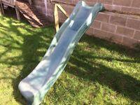 Sturdy plastic childs / kids slide for wooden type climbing frame.