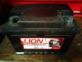 065 car battery 12v free fitting