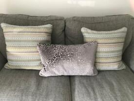 DFS cushions excellent condition