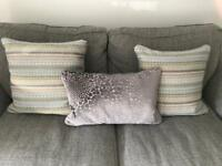 DFS cushions excellent condition