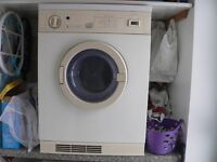 Tumble dryer Gas White Knight 2 heat settings & timer full working order
