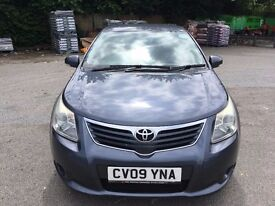 2009 TOYOTA AVENSIS 2.0D TURBO DIESEL WITH FULL SERVICE HISTORY VALID PHV PCO STICKER!PCO&UBER READY