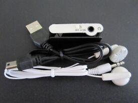 Clip-On Mini MP3 Player
