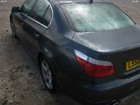 2008 bmw 520d spares or repairs noisy engine still drives well