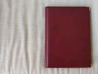 Ryman Deluxe Display Book A4 36 Pockets Burgundy (never used)