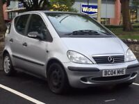 MERCEDES A140 SE 2004 (04 REG)**£949*12 MONTHS MOT*FULL MERCEDES SERVICE HISTORY*PX WELCOME*DELIVERY