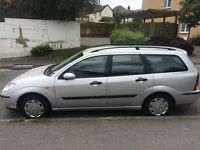 Ford Focus 02 plate
