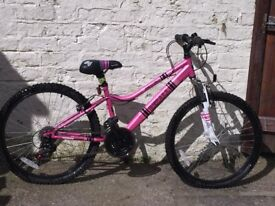 Apollo Girls Pink Bike