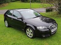 2006 AUDI A3 1.9 TDI SPORT 3DR HATCHBACK MOT JAN 2017 5 SERVICE STAMPS 2 FORMER KEEPERS GREAT DRIVE