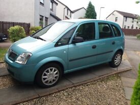 Vauxhall meriva FOR PARTS OR REPAIR