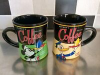 Disney World Florida Coffee Mugs x2
