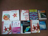 Higher Maths books (10)