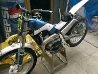 Trials bike 250cc