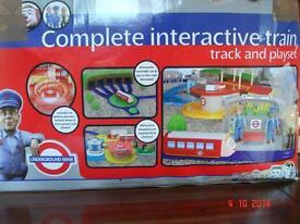 Underground Ernie Interactive Train, Track & Playset