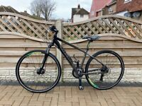 Carrera crossfire 2 hybrid bike