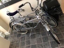 Chromed bikes