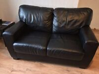 FOR SALE 2 LEATHER SETTEES